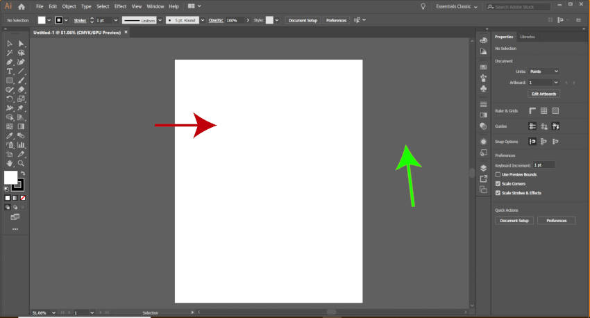 Új Letter Artboard Illustrator vs Inkscape bemutató