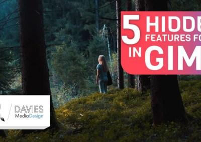 Ukryte funkcje 5 znalezione w GIMP