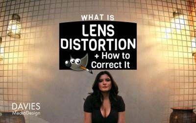 ¿Qué es la distorsión de la lente y cómo corregirla en GIMP?