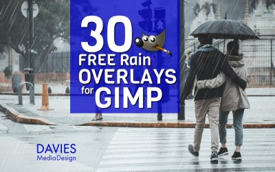 BESPLATNO Kišno prekrivanje za GIMP u HD-u