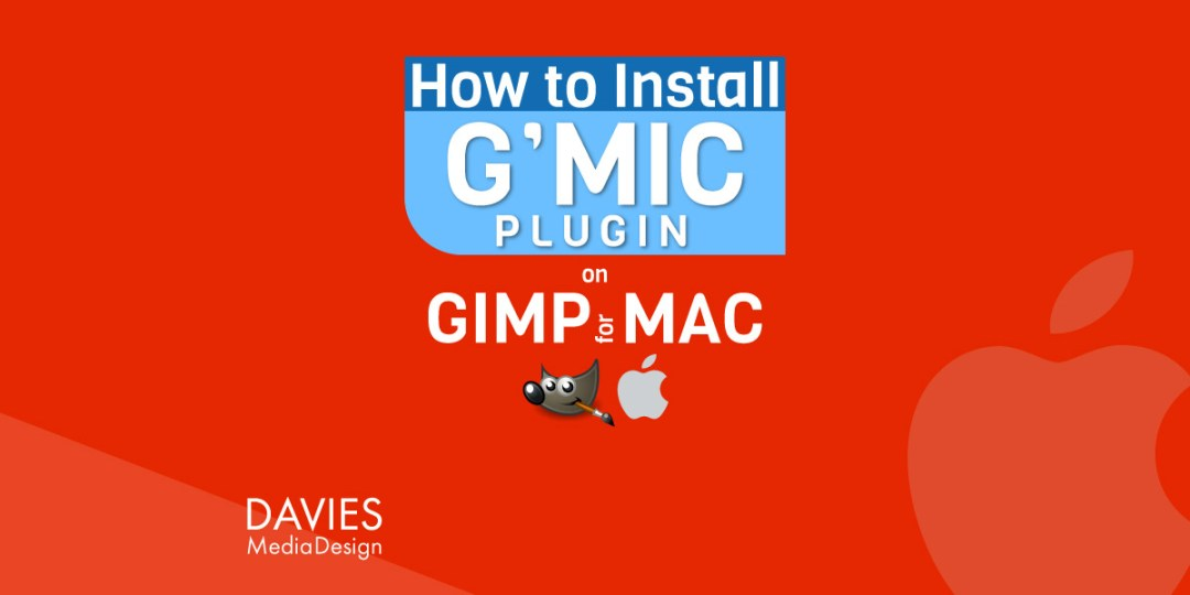 मैक ट्यूटोरियल के लिए GMIC प्लगइन GIMP कैसे स्थापित करें