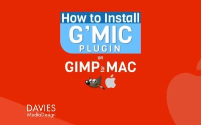 Cómo instalar el complemento G'MIC-QT para GIMP en un MAC