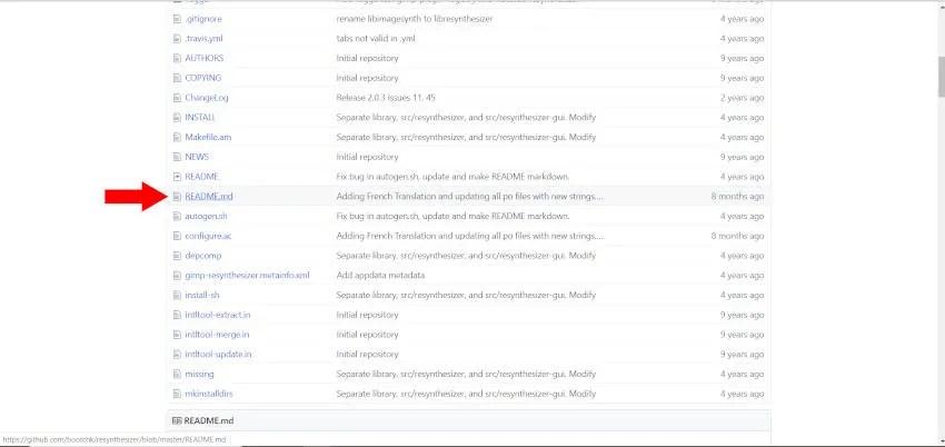 Leggimi File Plugin GIMP Resynthesizer