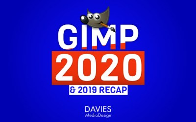Vista previa de GIMP 2020 y resumen de GIMP 2019