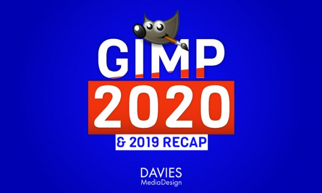 GIMP 2020 Preview en GIMP 2019 Samenvatting