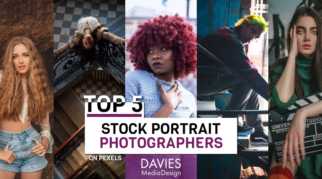 Top 5 stock portræt fotografer på Pexels