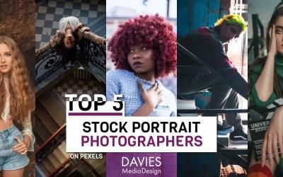 Los 5 mejores fotógrafos de retratos en Pexels