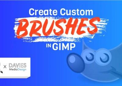 ALL 4 طرق لإنشاء فرش مخصصة في GIMP | وأوضح جميع أنواع الفرشاة
