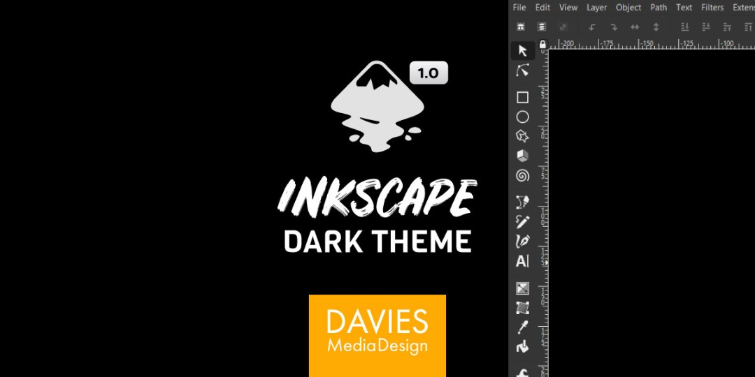 Kako nastaviti Inkscape Dark Theme Inkscape 1.0 Tutorial