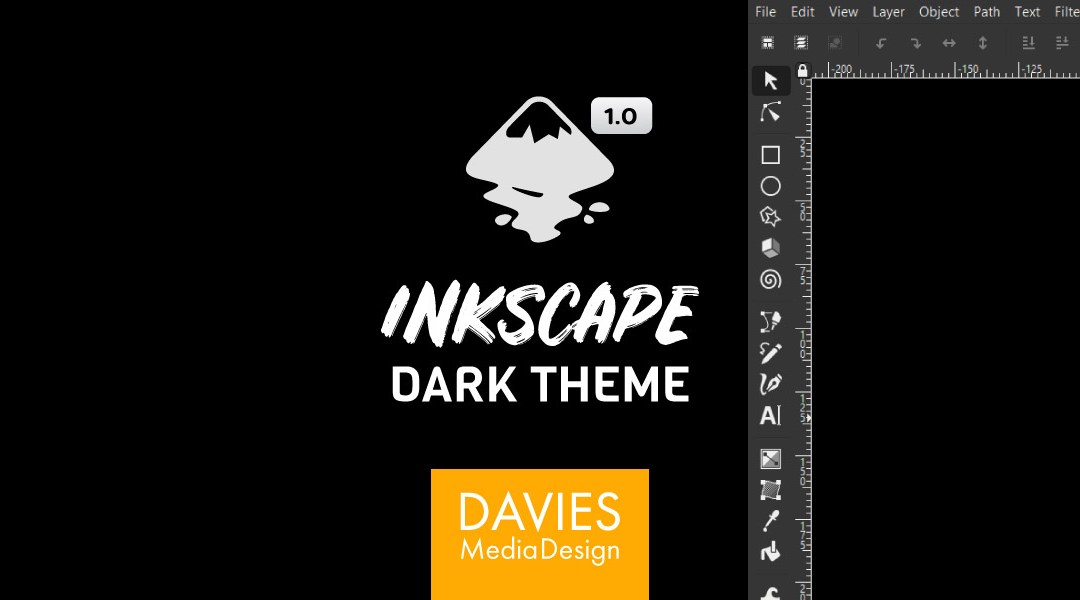 How to Set Up Inkscape Dark Theme Inkscape 1.0 Tutorial