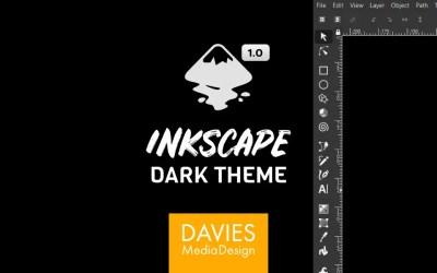 Inkscape 1.0 Dark Theme Set Up