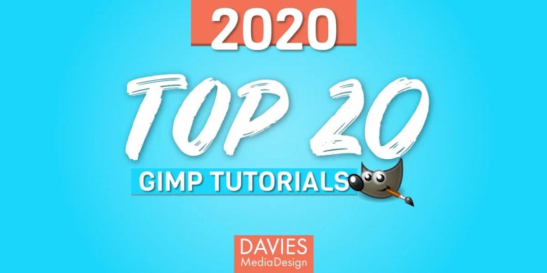 Cele mai bune tutoriale 20 GIMP ale 2020