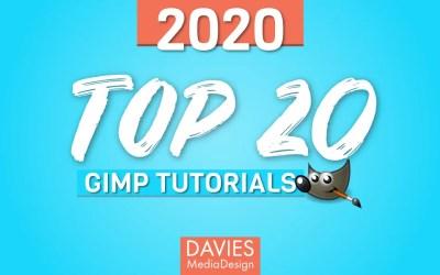 20 Udhëzimet më të mira GIMP të vitit 2020