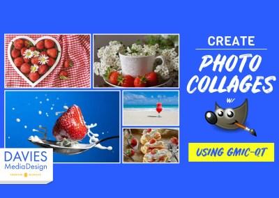 Kreye Collages Photo ak Filtre nan montaj