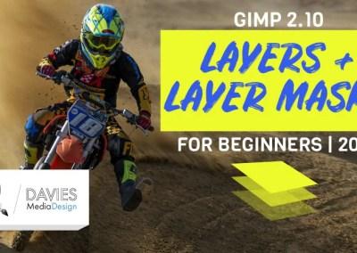 GIMP Layers and Layer Masks 2020 | In-Depth GIMP Basics Tutorial