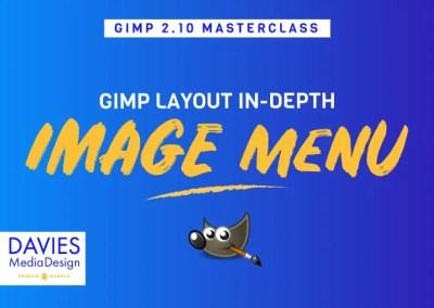 GIMP izbornik slika (glavni izbornik)