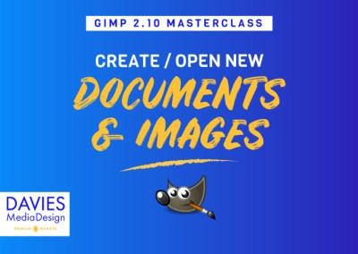 How to Create a New Document and Open Images in GIMP | In-depth Tutorial for Beginners