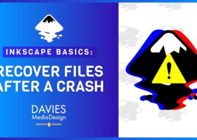 How to Back Up Your Work and Recover Files in Inkscape 1.0