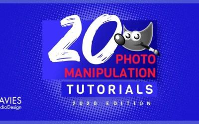 20 GIMP Photo Manipulation Tutorials for 2020