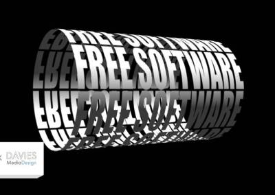 Wrap Text Around a Cylinder in GIMP | 3D Typography