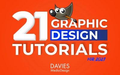 21 Udhëzime për Projektimin Grafik të GIMP për Master për 2021