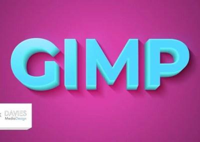 इस सरल विधि के साथ GIMP में बेहतर 3D पाठ बनाएँ