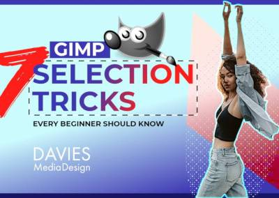 7 GIMP Selection Tricks Every Beginner Should Know