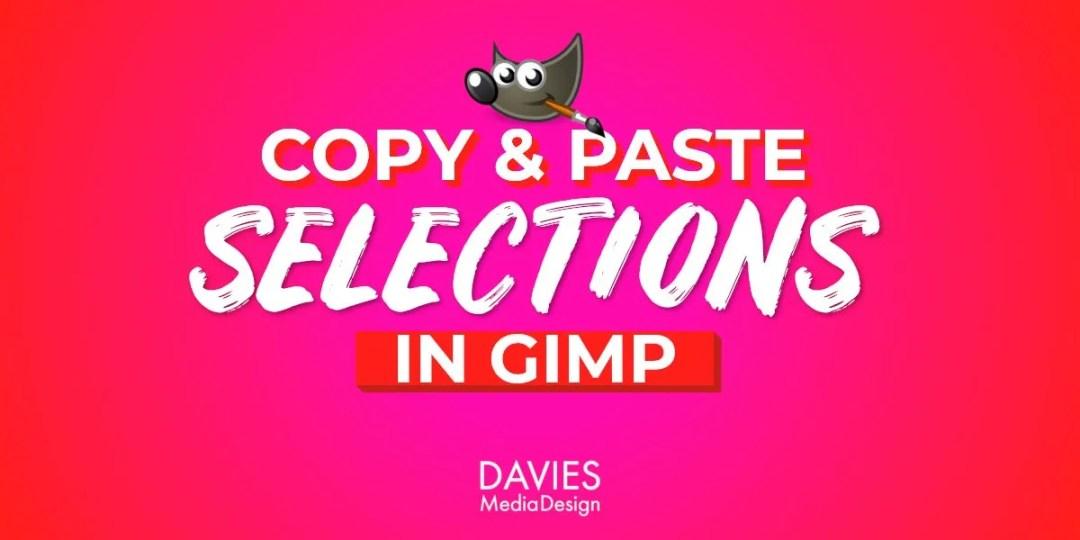 Copiați și lipiți selecțiile în articolul de ajutor GIMP
