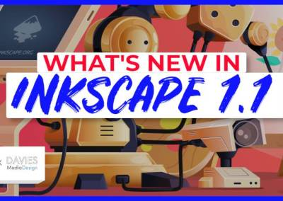 Hvað er nýtt í Inkscape 1.1