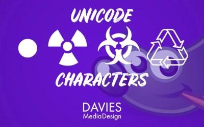 Créer des caractères Unicode pour le texte dans GIMP (puces, symboles, icônes)