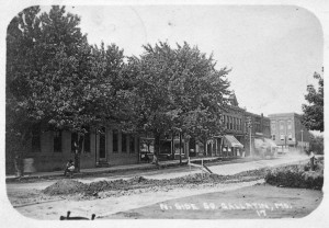 Gallatin Square - North Side 1908