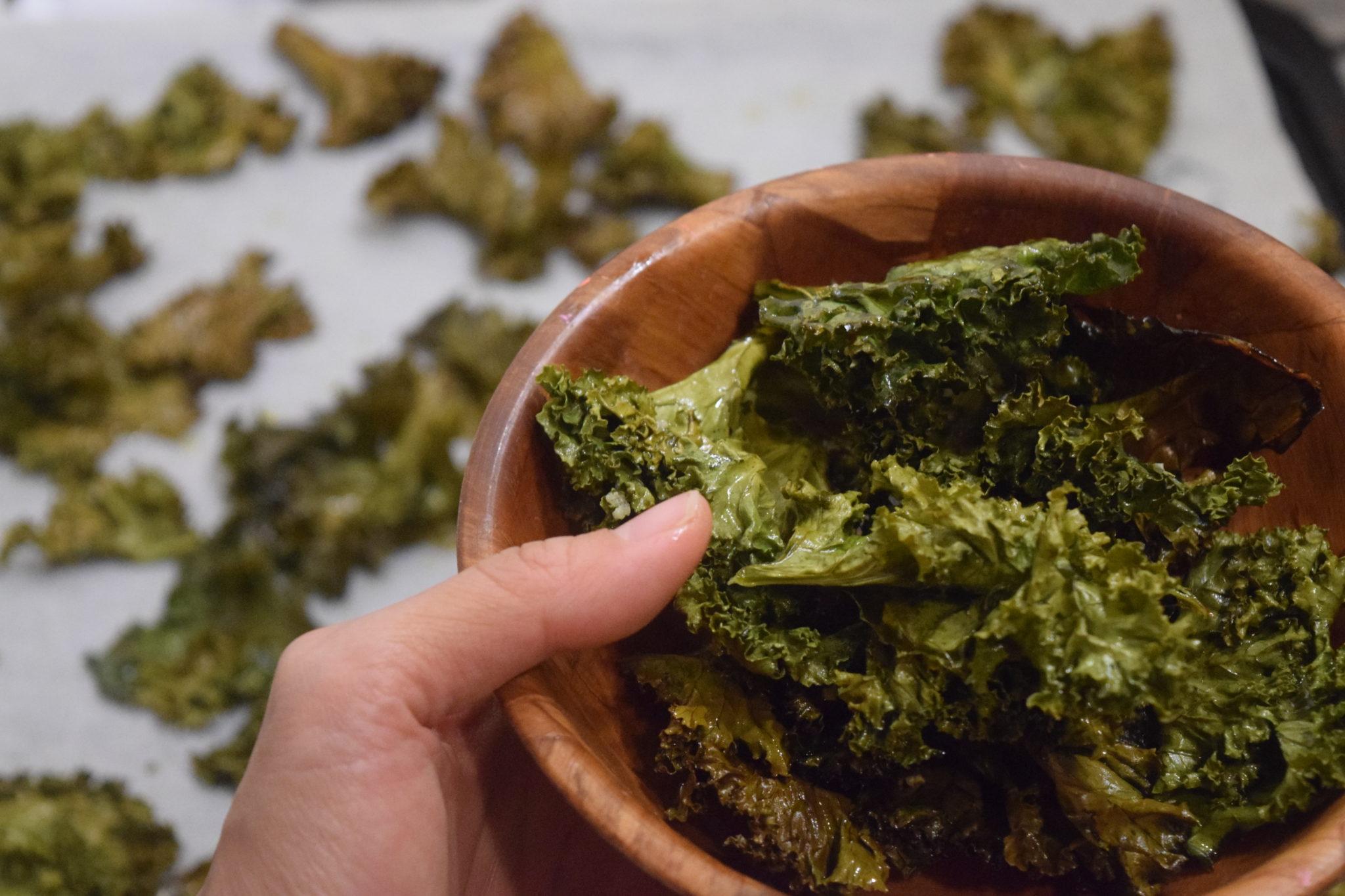 Kale / Kailan Chips
