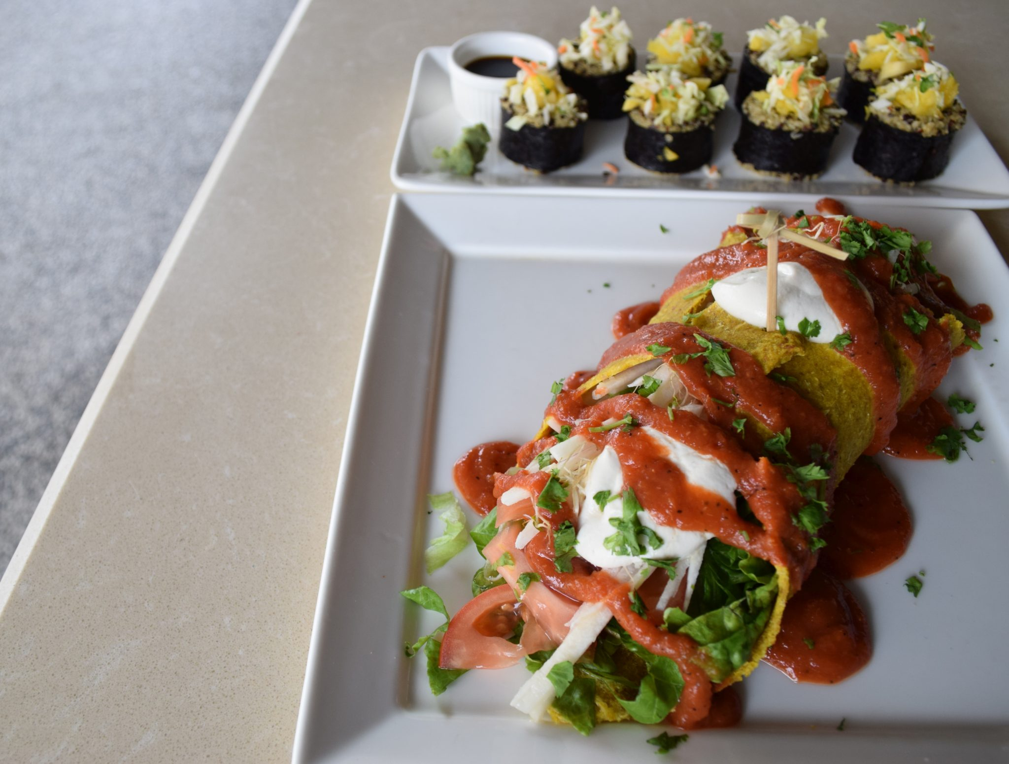 Cafe Scouting: Ashley's by Living Food