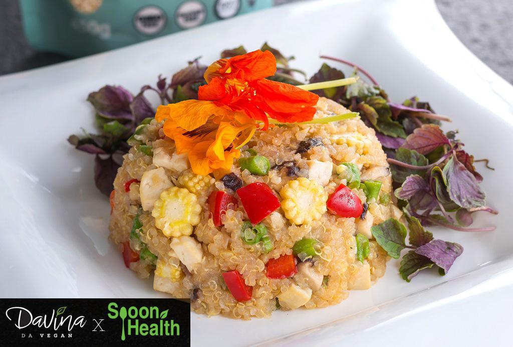 Quinoa Goreng (Fried Quinoa)
