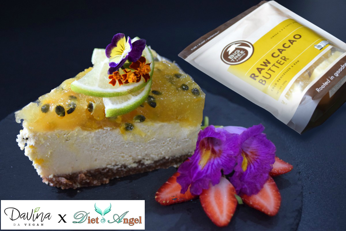 White Chocolate Passionfruit Cheesecake