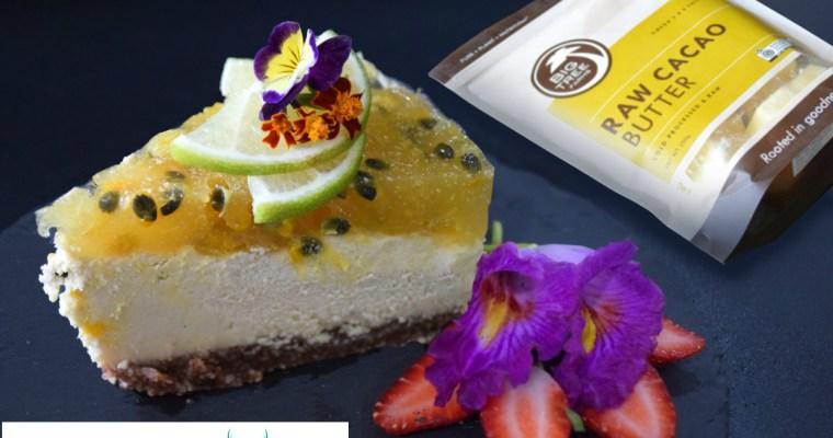 White Chocolate Passionfruit Cheesecake