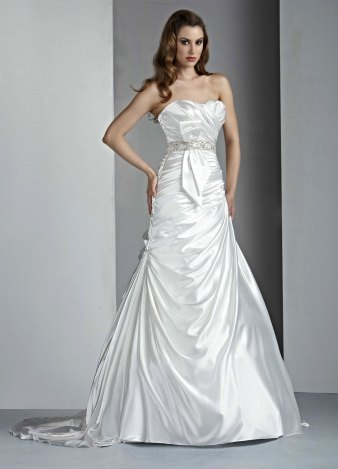 Dreamy Satin Wedding Gowns