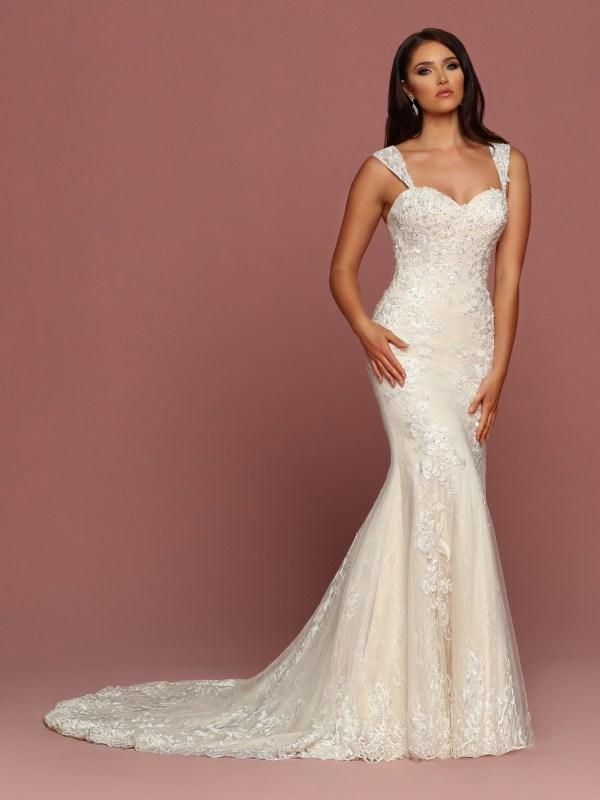 DaVinci Bridal Style #50495 - Front View
