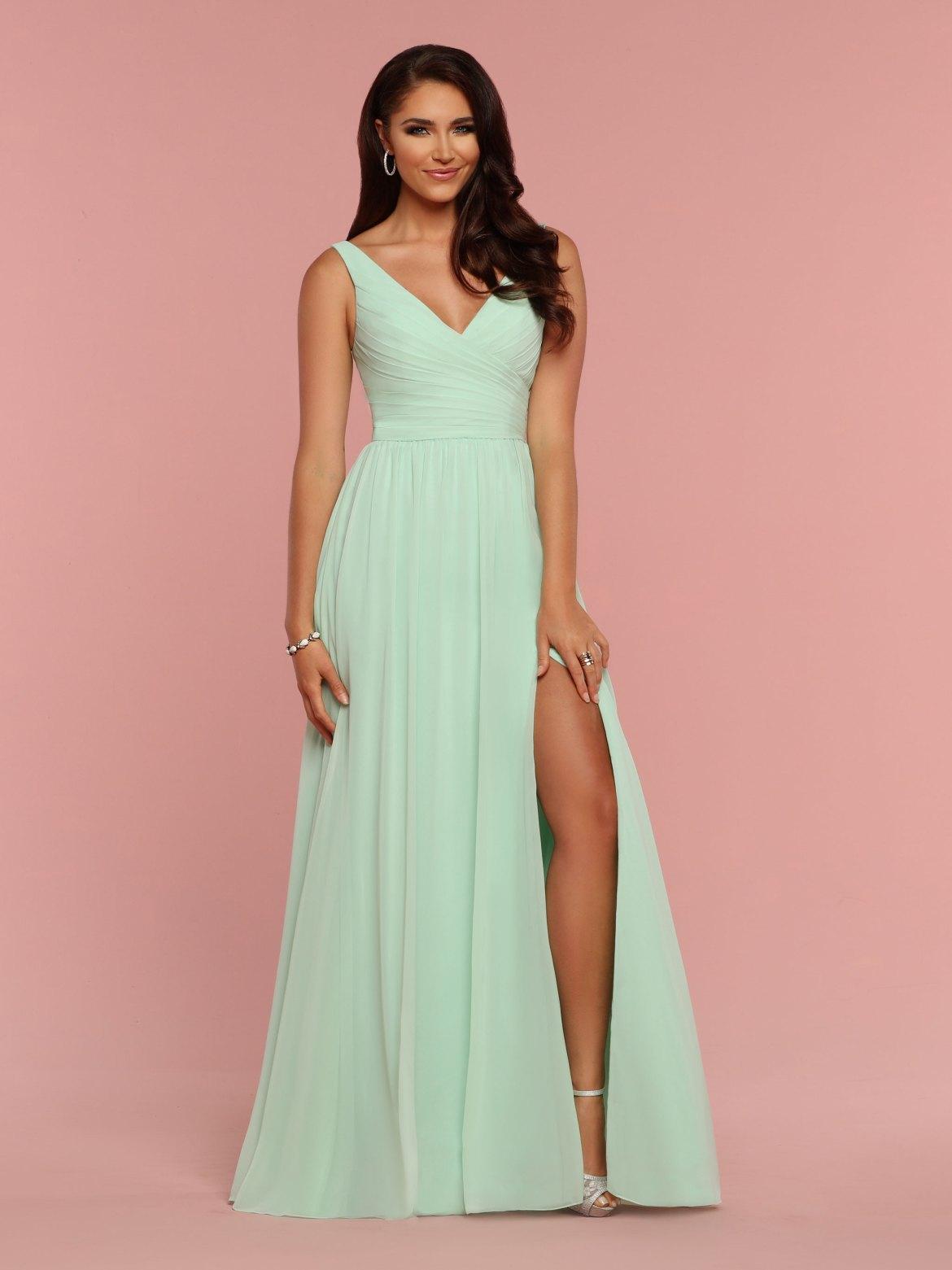 Style  60336  Chiffon A-Line Floor Length Bridesmaid Dress with Full Skirt a00da4816597