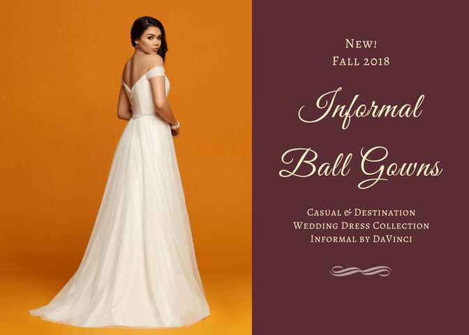 Casual Wedding Dress Trends 2018