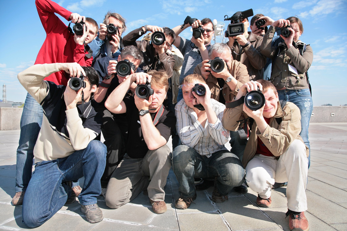 You have your photographer's UNDIVIDED attention!