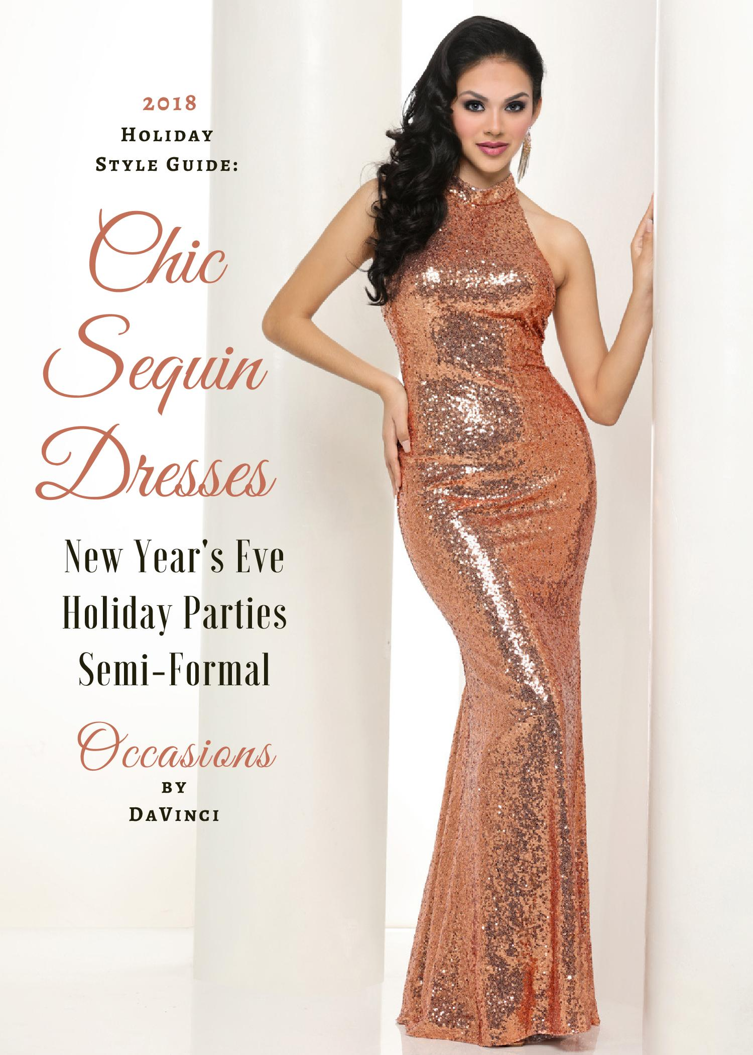 fcd7a8df83 Chic Sequin Dresses  NYE