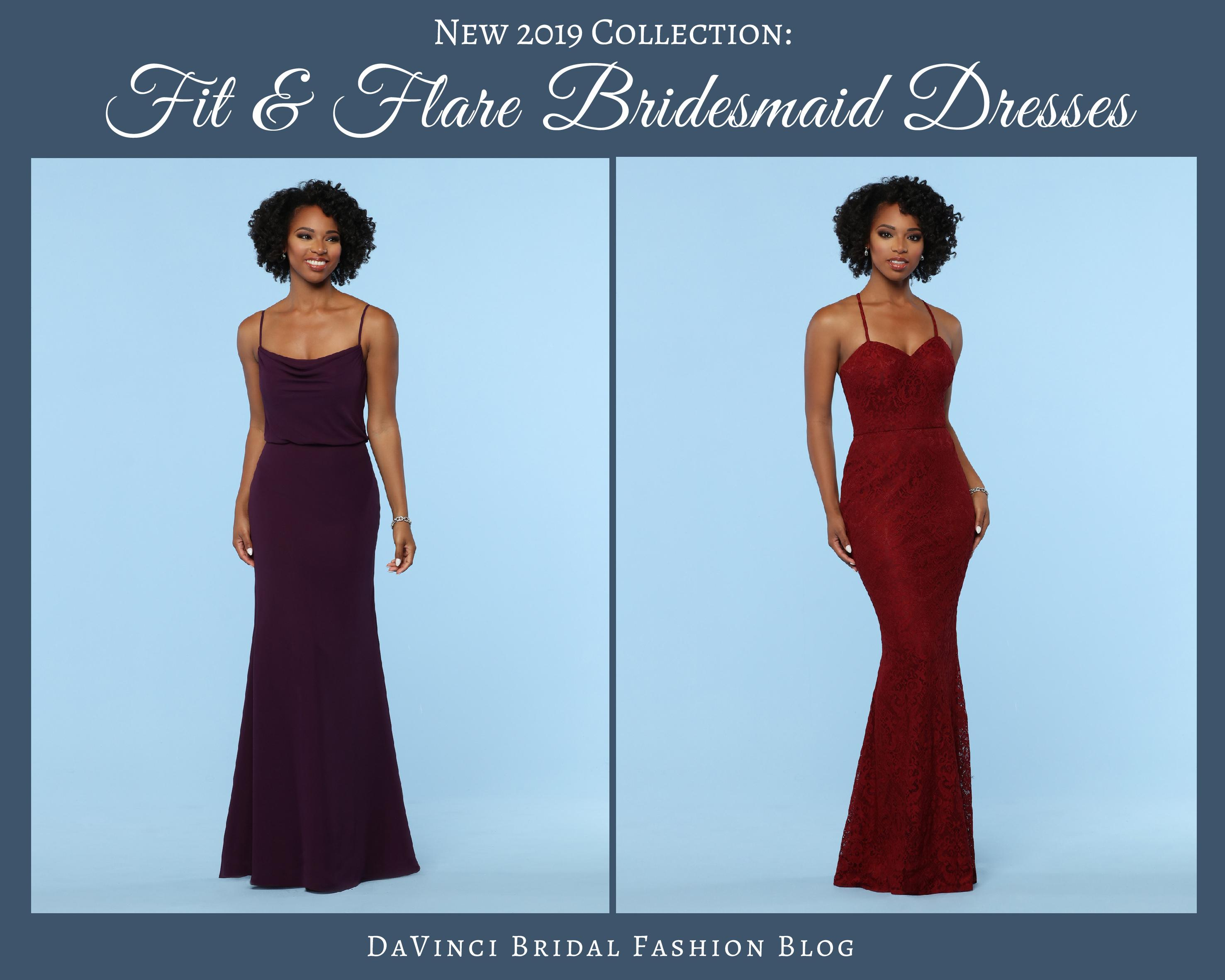 c37dffbdc86 New Arrival! 2019 Fit   Flare Bridesmaid Dress Collection – DaVinci ...
