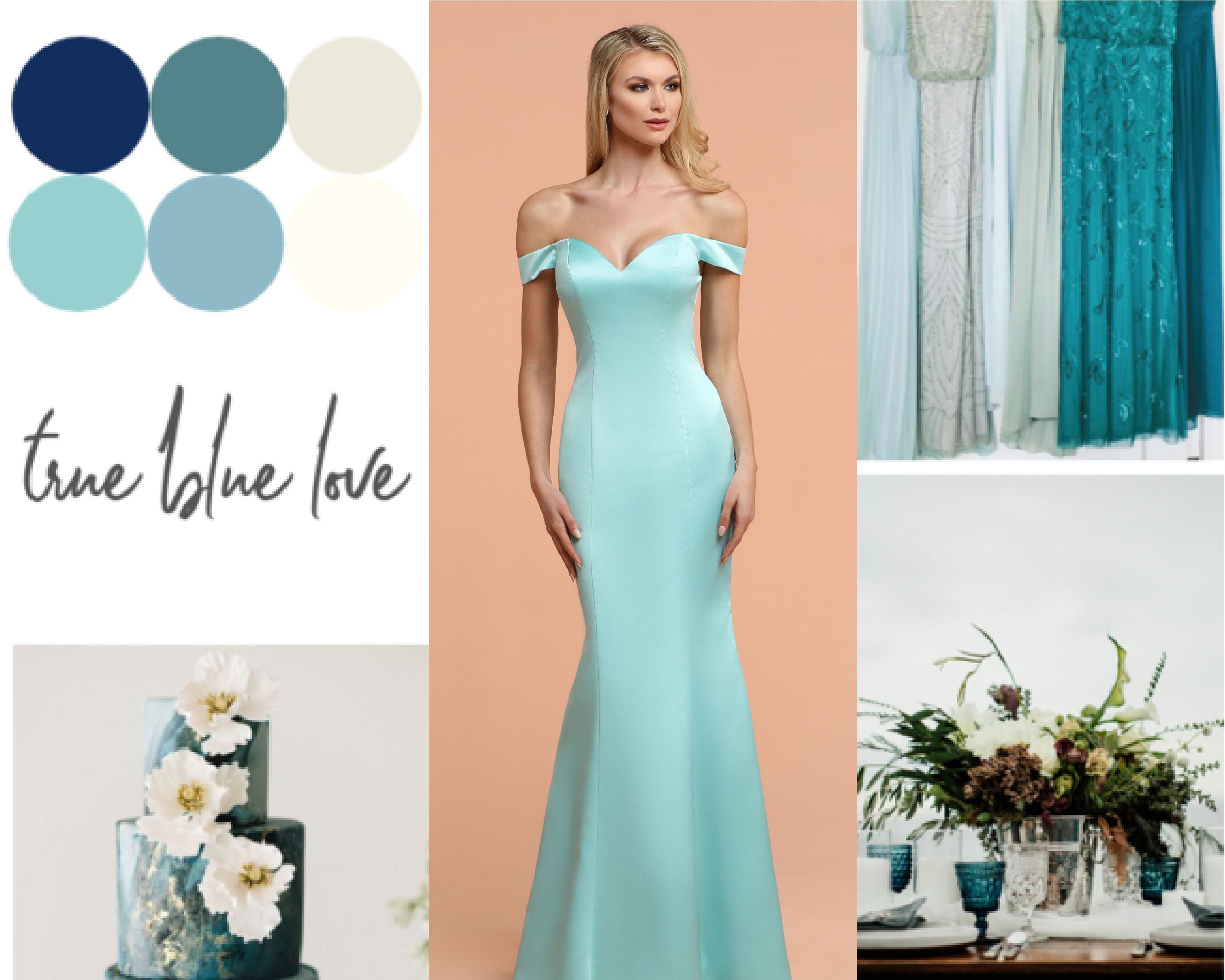 2020 Bridesmaid Dresses Color Trends Blue Davinci Bridal,Used Wedding Dress For Sale