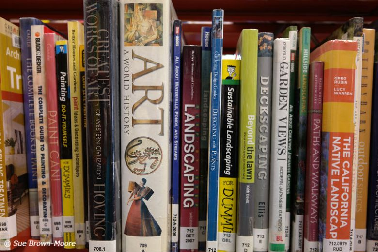 You can learn art and history at your public library...