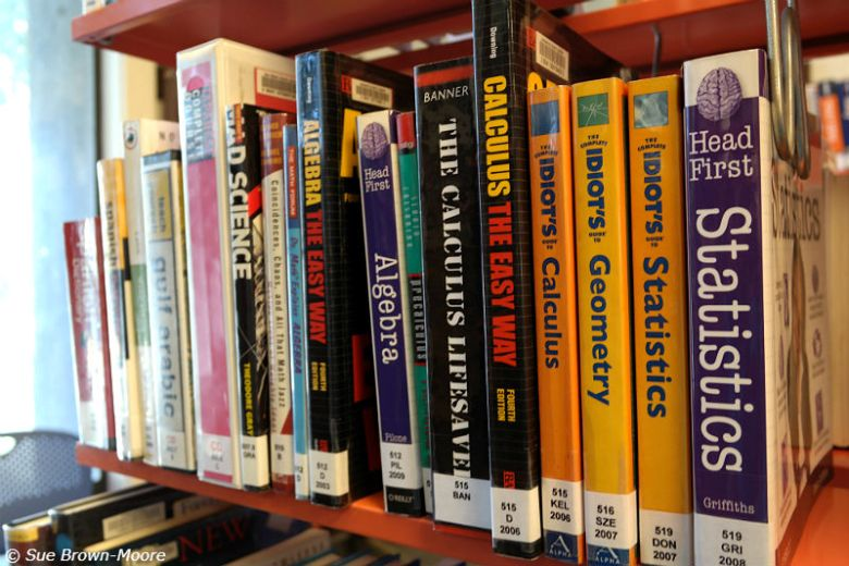 You can learn calculus and statistics at your public library...