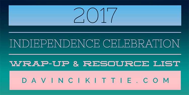 Resources quick list & #IndieMonth2017 wrap-up! Sign up for next year here!