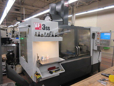 Haas VF-3ss with 4 and 5 axis capability
