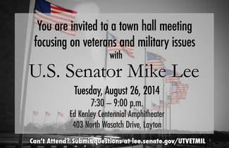 Mike Lee Town Hall