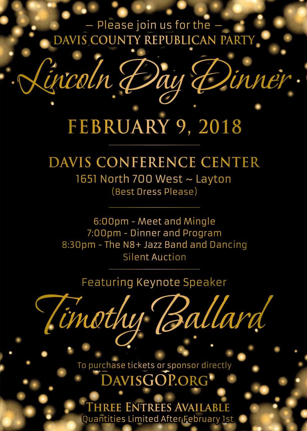 2018 Lincoln Day Dinner